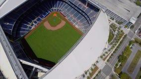 Flyg- Marlins parkerar Miami lager videofilmer