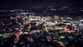 Flyg- nattschackningsperiod för japansk stad
