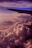 flyg- nepal sikt Fotografering för Bildbyråer