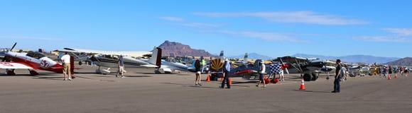 Flyg- och utbildningsexpo royaltyfri fotografi
