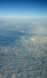 flyg- oklarheter sköt royaltyfri bild