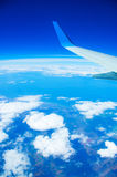 Flyg ovanför en jordning Arkivbilder