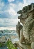 flyg- paris sikt Fotografering för Bildbyråer