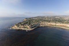 Flyg- Rancho Palos Verdes California Coast royaltyfri bild