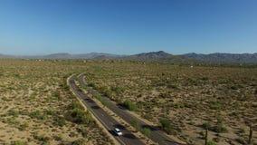 Flyg- Scottsdale Arizona landskap lager videofilmer