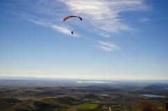 Flyg- sikt över Aragon, Spanien Royaltyfria Foton