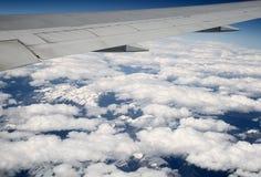 flyg- sikt Royaltyfri Foto
