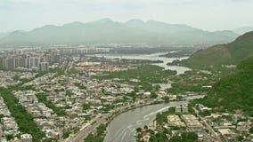 Flyg- sikt av Barra Region arkivfilmer