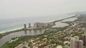 Flyg- sikt av Barra Region lager videofilmer