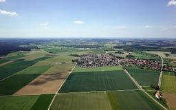 Flyg- sikt av Bayern arkivbilder