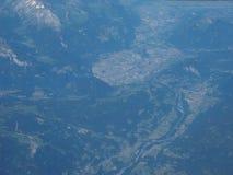 flyg- sikt av Belgien royaltyfri bild