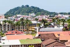 Flyg- sikt av Cayenne fotografering för bildbyråer