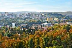 Flyg- sikt av Cluj Napoca Royaltyfria Bilder