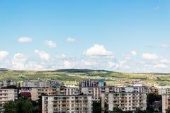 Flyg- sikt av Cluj Napoca Royaltyfria Foton