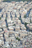 Flyg- sikt av Damascus, Syrien Royaltyfri Bild