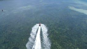 Flyg- sikt av den japanska ön stock video