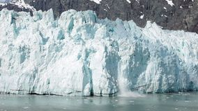 Flyg- sikt av det polara landskapet Krossa för isberg stock video