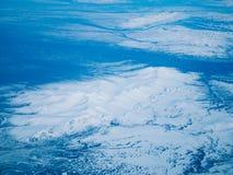 Flyg- sikt av en Alaska nationalpark fotografering för bildbyråer