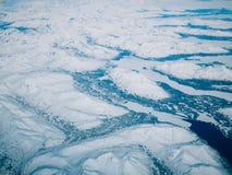 Flyg- sikt av en Alaska nationalpark arkivfoton