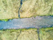 Flyg- sikt av Glen Etive royaltyfri foto