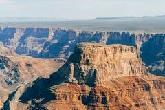 Flyg- sikt av Grand Canyonnationalparken, arizona arkivfoton