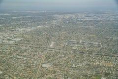 Flyg- sikt av imperialistisk det domstol- och Compton området arkivbilder