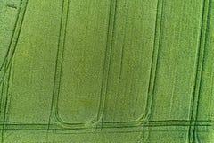Flyg- sikt av jordbruks- land Royaltyfria Bilder