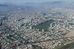 Flyg- sikt av Lima Peru Fotografering för Bildbyråer