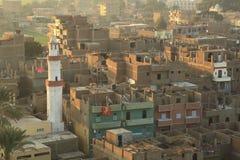 Flyg- sikt av Luxor i Egypten Arkivbilder