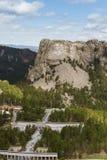 Flyg- sikt av Mount Rushmore Royaltyfri Bild