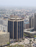 Flyg- sikt av Nairobi, Kenya Royaltyfria Bilder