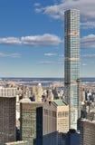 Flyg- sikt av Newet York City Arkivfoton