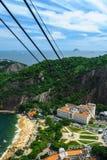 Flyg- sikt av Rio de Janeiro royaltyfri fotografi