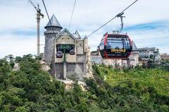 Flyg- sikt av semesterorten för berg för lodisNa-kullar Royaltyfri Bild