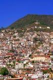 Flyg- sikt av Taxco Arkivbilder