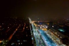 Flyg- sikt av Turin Arkivfoton