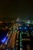Flyg- sikt av Turin Royaltyfria Bilder