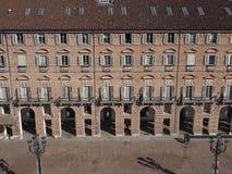 Flyg- sikt av Turin fotografering för bildbyråer