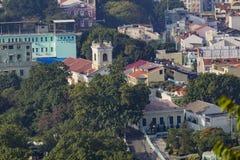Flyg- sikt av vår dam Of Carmel Church arkivfoto