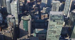 flyg- sikt för 4K UltraHD över Toronto, Kanada stock video