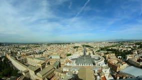 Flyg- sikt för Vaticanen stock video