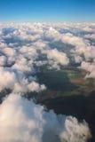 Flyg- sikt från över Arkivfoto