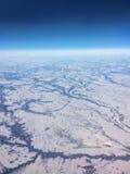 Flyg- sikt Kanada Royaltyfri Foto
