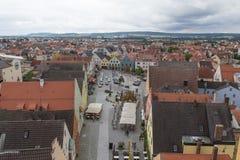 Flyg- sikt Schwandorf Royaltyfri Foto