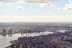 flyg- sikt york för foto för byggnadsstadsvälde nytt tagen övre tillstånd Royaltyfri Bild