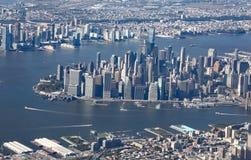 flyg- sikt york för foto för byggnadsstadsvälde nytt tagen övre tillstånd fotografering för bildbyråer