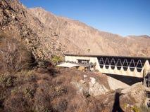 Flyg- spårväg för Palm Springs royaltyfri foto
