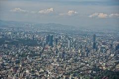 flyg- stad mexico Royaltyfria Bilder