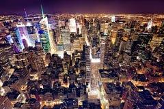 flyg- stad New York Arkivfoton