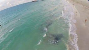 Flyg- strandlängd i fot räknat lager videofilmer